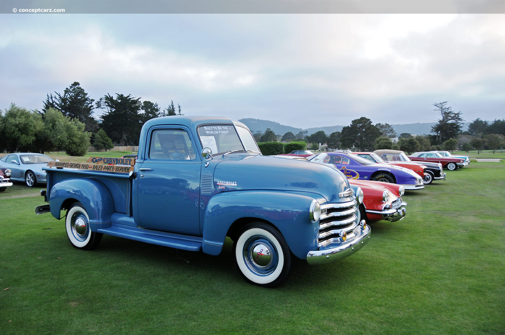 1950 Chevrolet 3100 Pickup auction sales and data.