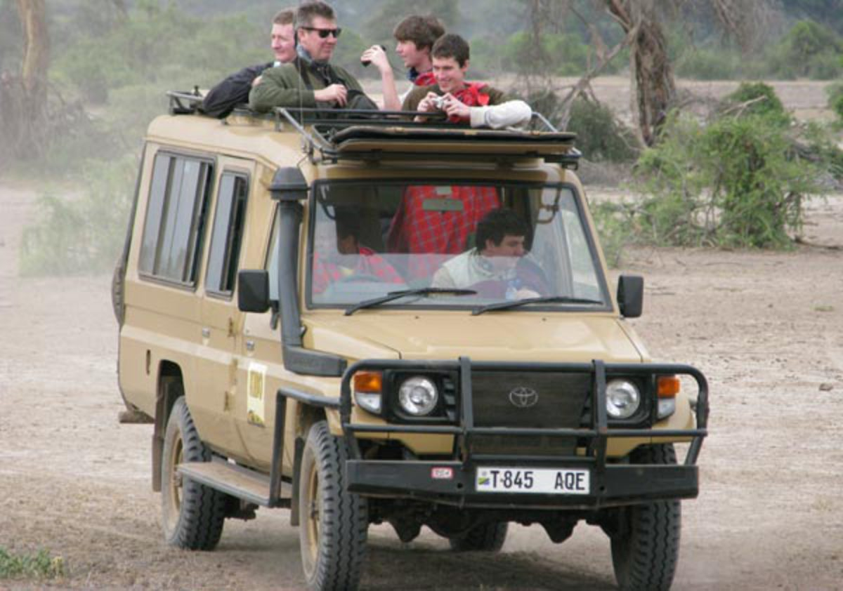 Land Cruising: Exploring East Africa in an Indigenous Toyota