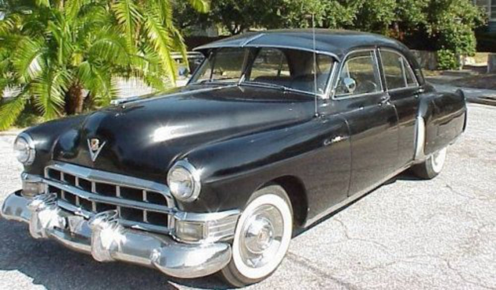 1949 Cadillac Fleetwood 60 Special. The car with the big doors,