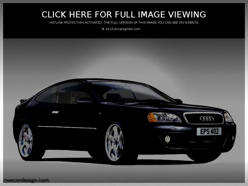 Audi Coupe: Description of the model, photo gallery, modifications ...