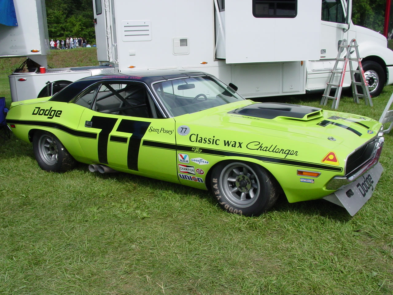 hello again we are looking for 1970 Sam's Posey Dodge Challenger Trans Am no