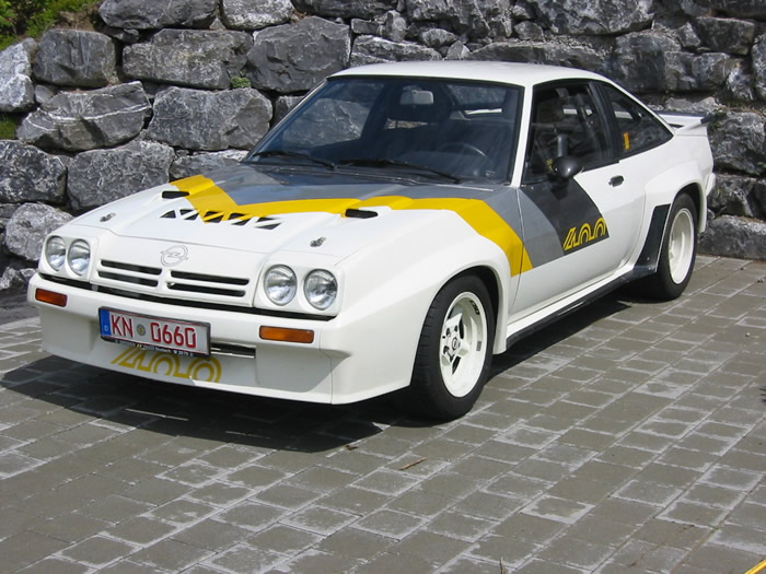 Opel Manta 400 - huge collection of cars, auto news and reviews, car vitals,