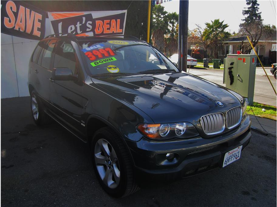 2005 BMW X5 44i Sport Utility 4D No Color No Color Ask for seer and get