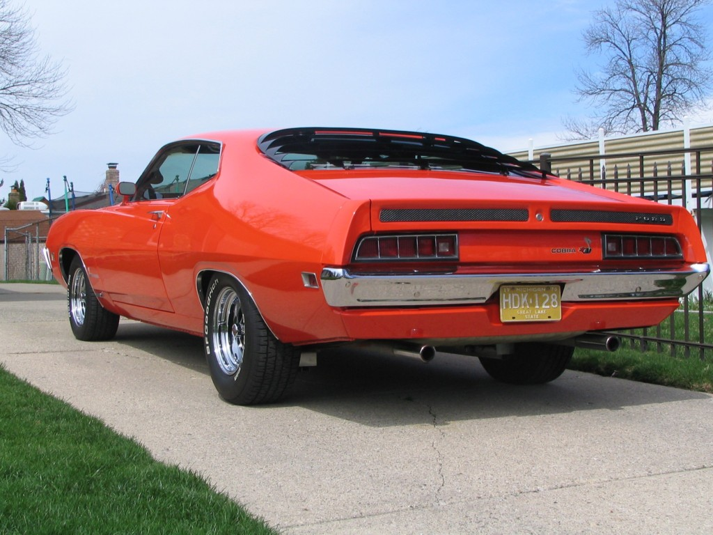 1970 Ford Torino Cobra Sportsroof - Rear left View Photo