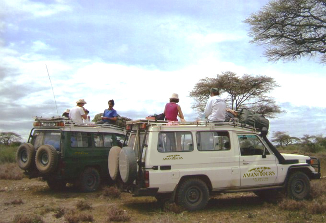 Our Safari Vehicles | Toyota Land Cruiser Safari Vehicle