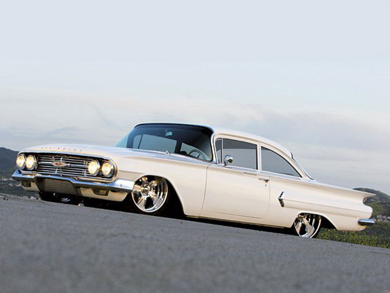 Technically changed little in those two years 1958-1972 Chevrolet Biscayne.