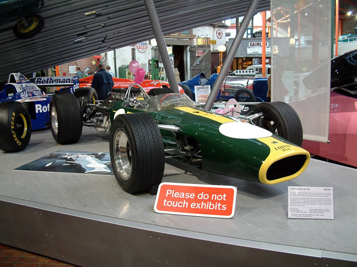 F1 Lotus 49 - Beaulieu - Classic Car Picture Gallery