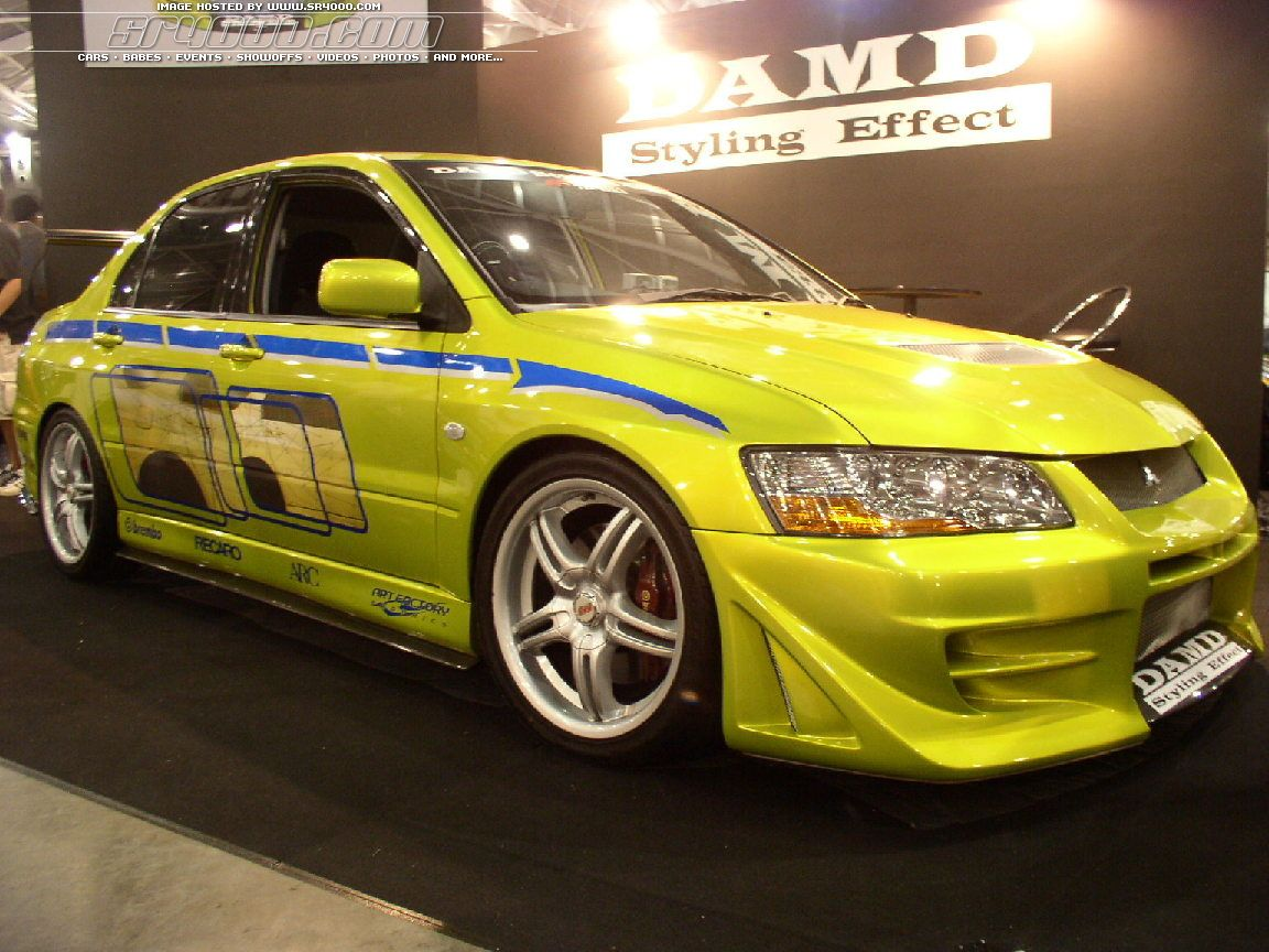 2 Fast 2 Furious EVO VII Tuning