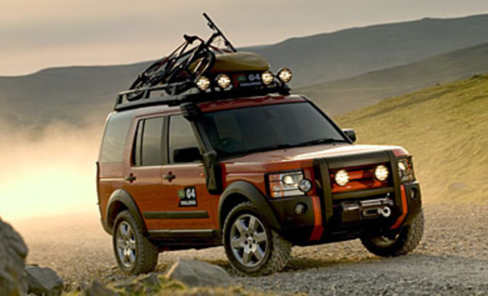 Land Rover LR3 Test Drive and Trim Kits. I'm a Land Rover enthusiast,