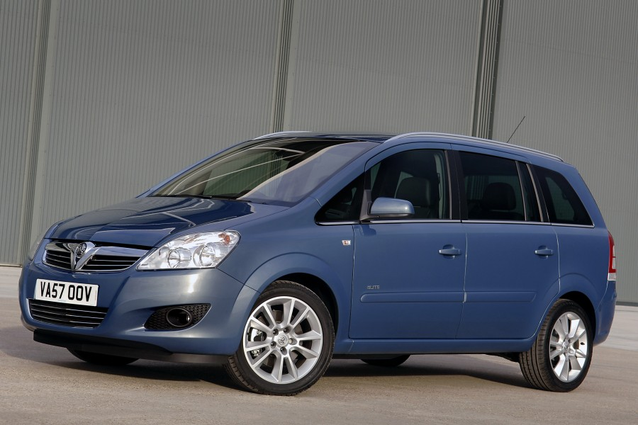 Vauxhall Zafira 2008 • MPV best-seller gets improved trim and styling