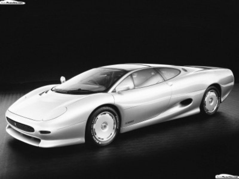 A selection of articles related to jaguar xj220 concept car.