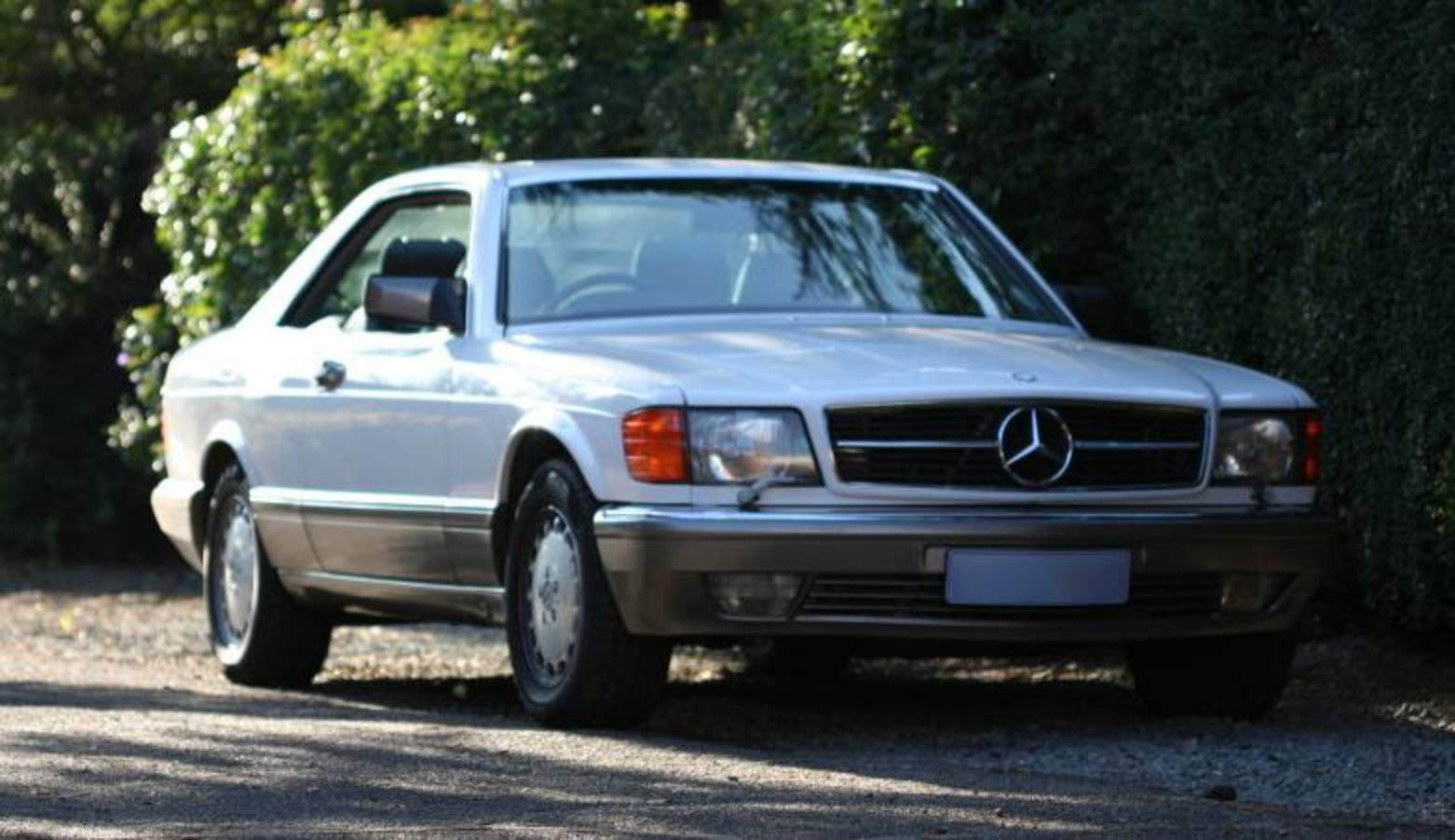 File:Mercedes Benz 560 SEC 1990.JPG. No higher resolution available.