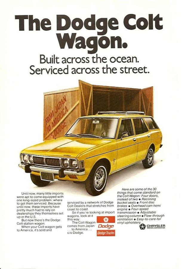 Dodge Colt Station Wagon. View Download Wallpaper. 640x901. Comments