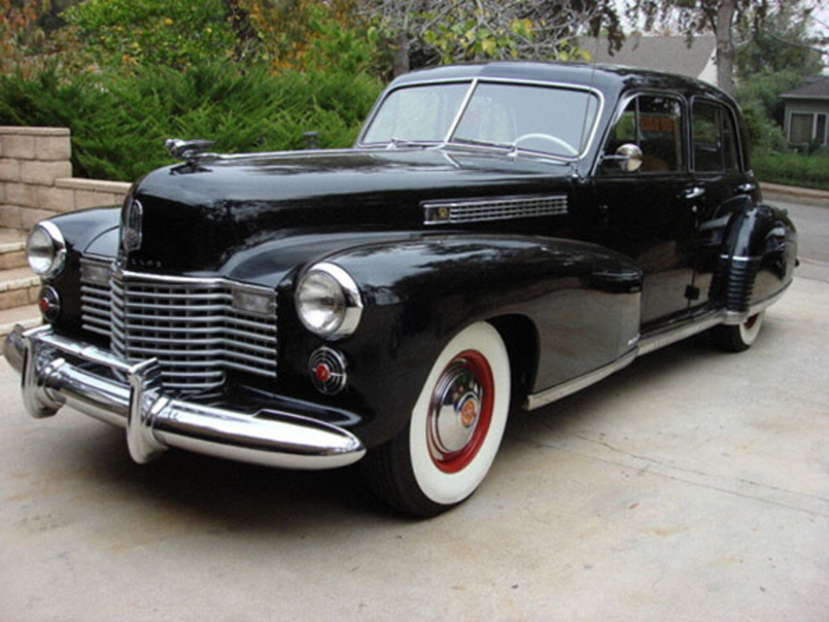 the excellent Cadillac Fleetwood 60 Special