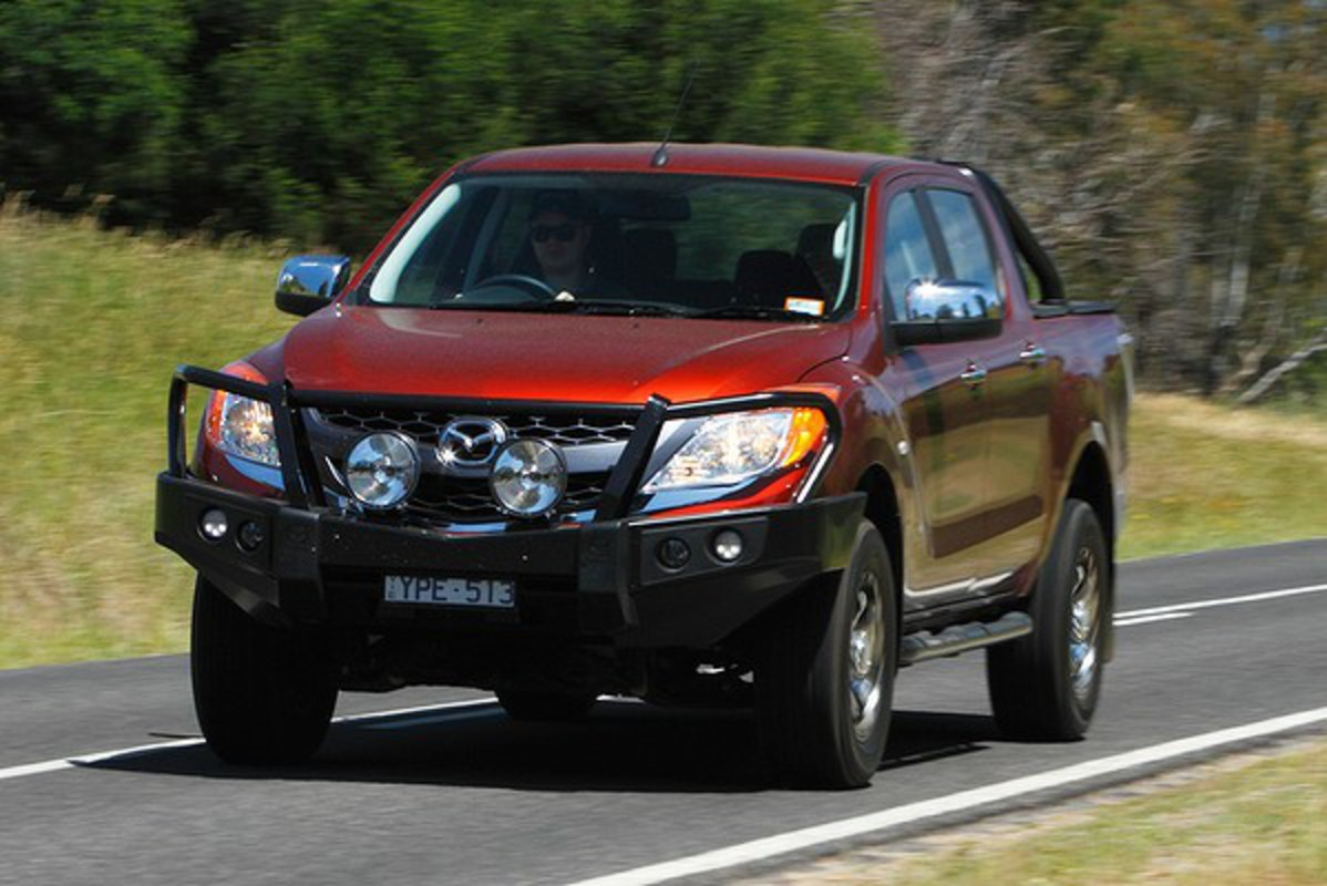 Drive's 2011 ute of the year, the Mazda BT-50 4x4. Click for more photos