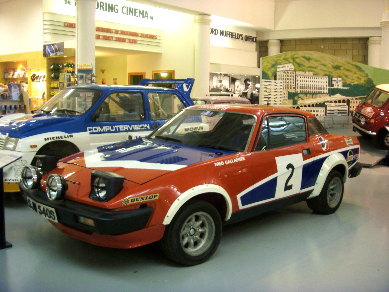 TopWorldAuto >> Photos of Triumph TR7 V8 - photo galleries