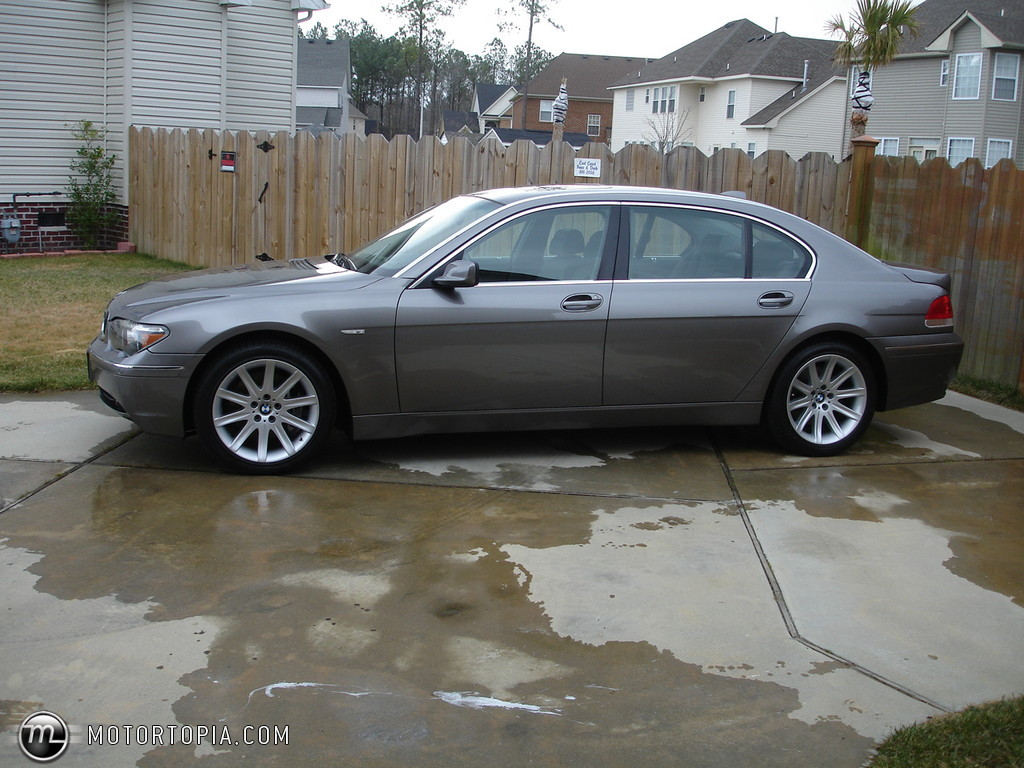 Photo of a 2004 BMW 745Li (Big Daddy). No longer owned