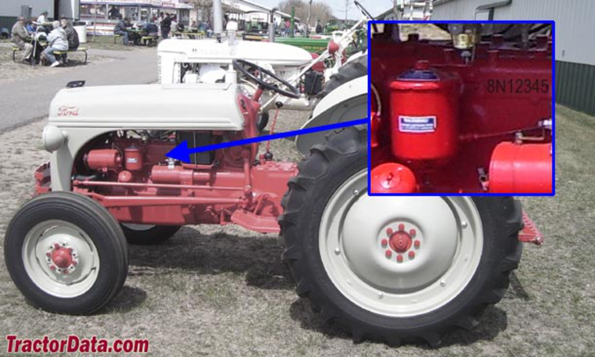 Ford 600 Tractor Serial Number : Topworldauto gt photos of ford n photo galleries