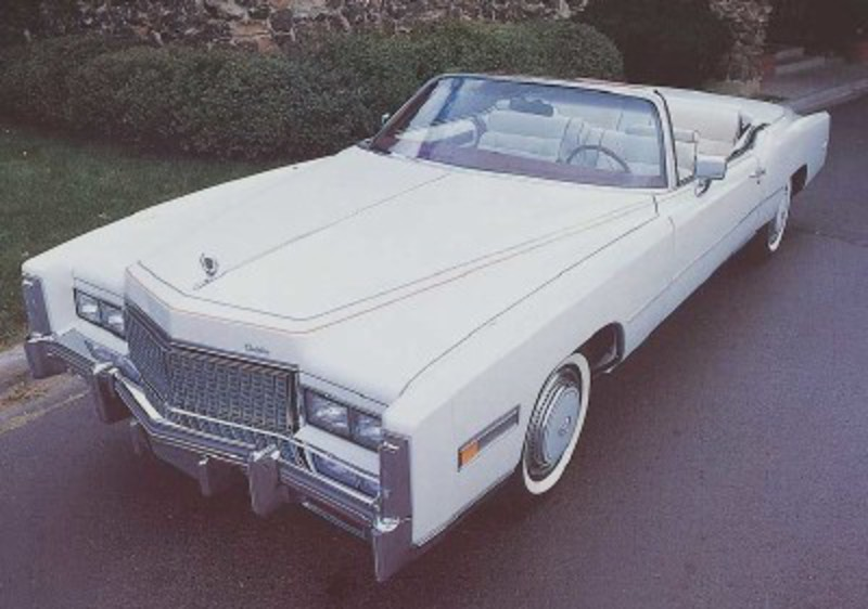 "The 1976 Cadillac Eldorado was believed to be an ""instant collectable."""