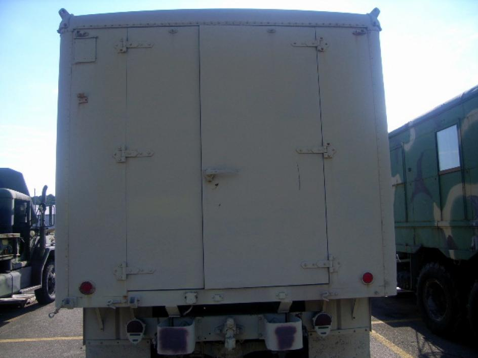 1973 AM General M109A3, 6x6, 2 1/2 ton shop van truck, without ...