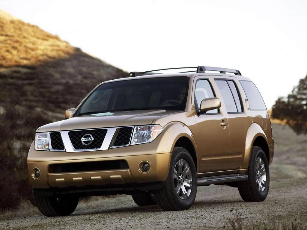 "2009 Nissan Pathfinder. Long before the existence of ""Crossovers"","