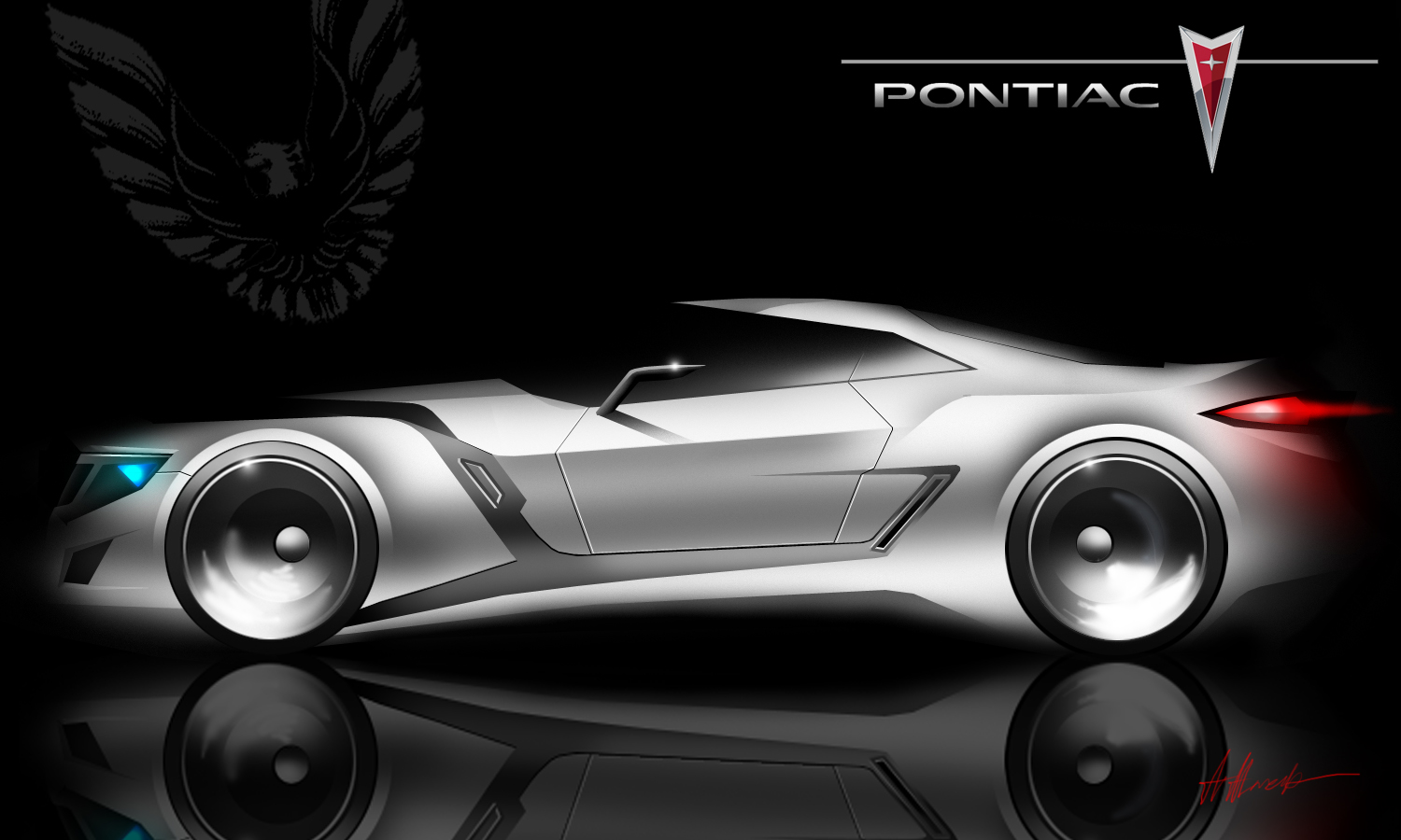 Still feelin' nostalgic about the Pontiac Firebird and its concepts made by