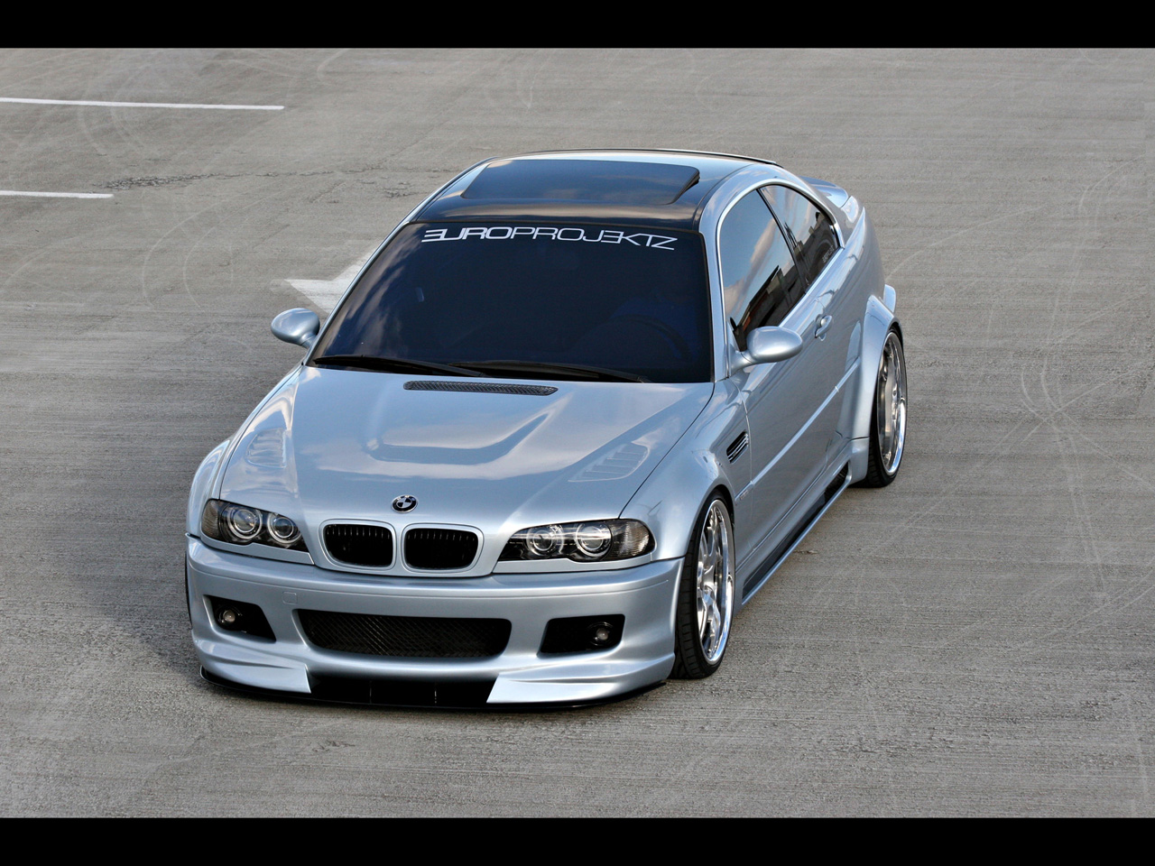 2003 BMW 325Ci Europrojektz ///OSS - Front Angle Top - 1280x960 - Wallpaper