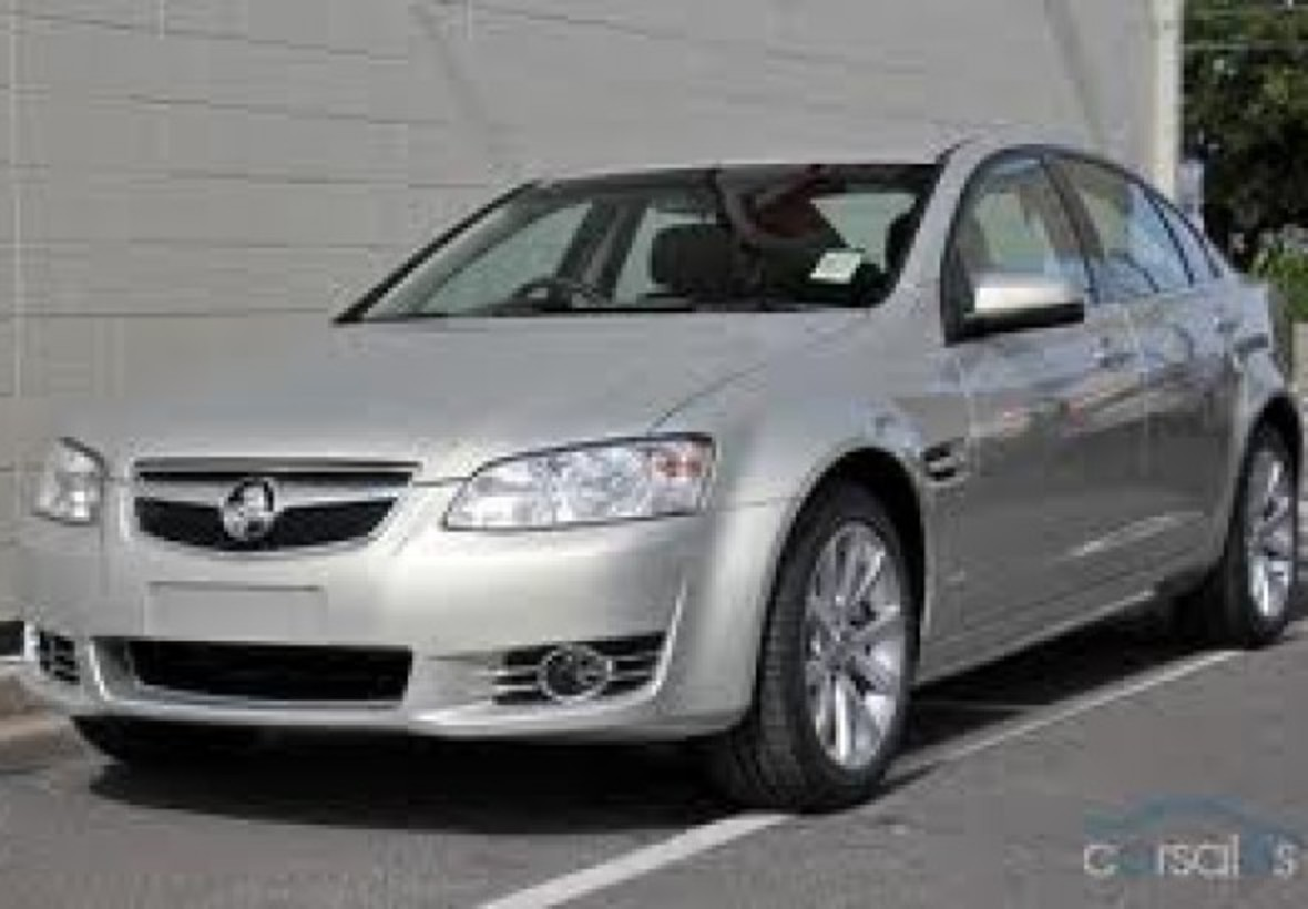 2012 Holden COMMODORE EQUIPE HBD