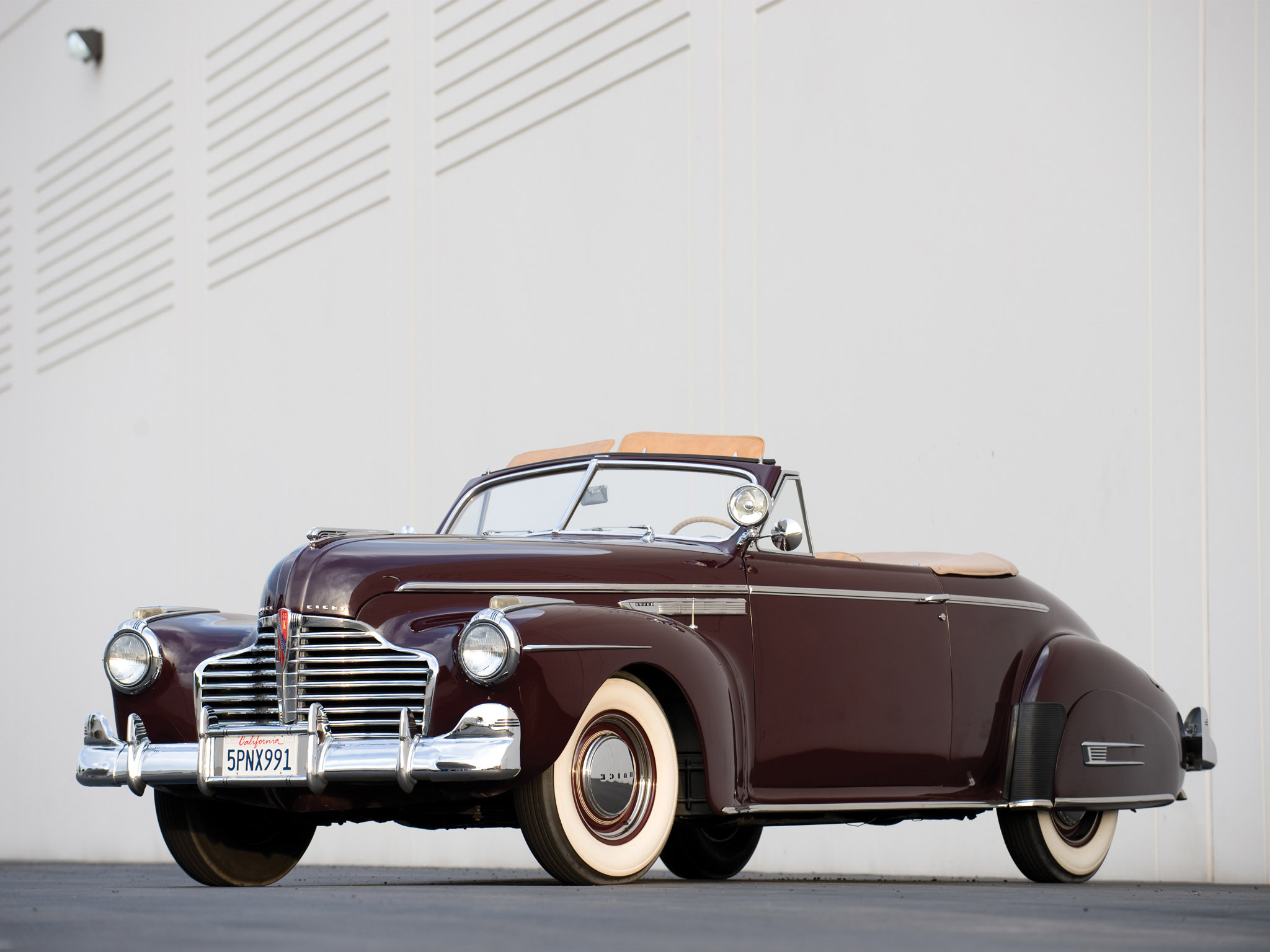 1941 Buick Super convertible ( 56C )