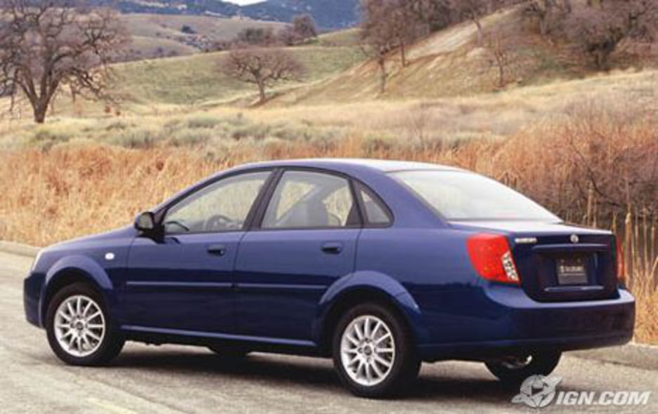 Suzuki Forenza - cars catalog, specs, features, photos, videos, review,