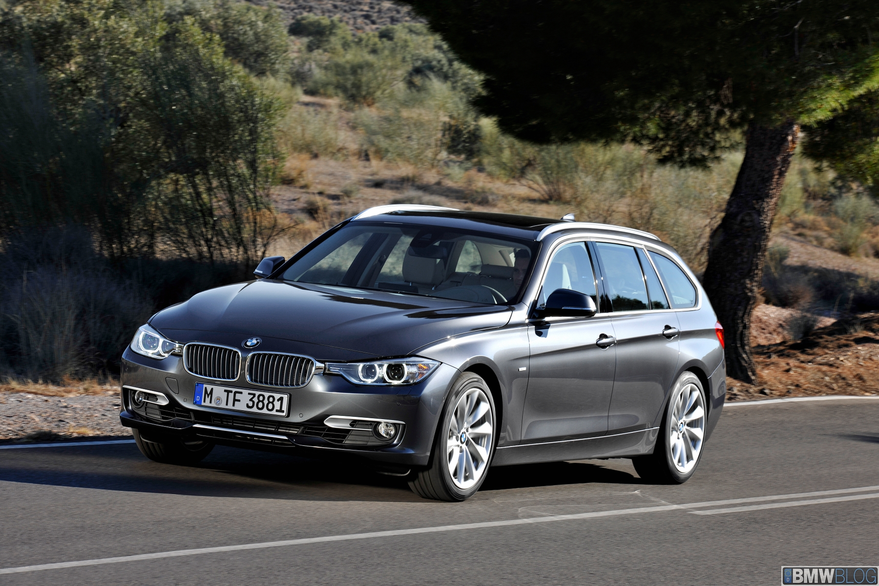 World Premiere: The New BMW 3 Series Touring
