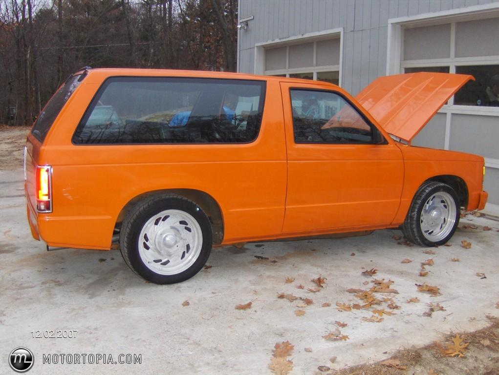 TopWorldAuto >> Photos of Chevrolet S10 Blazer - photo galleries