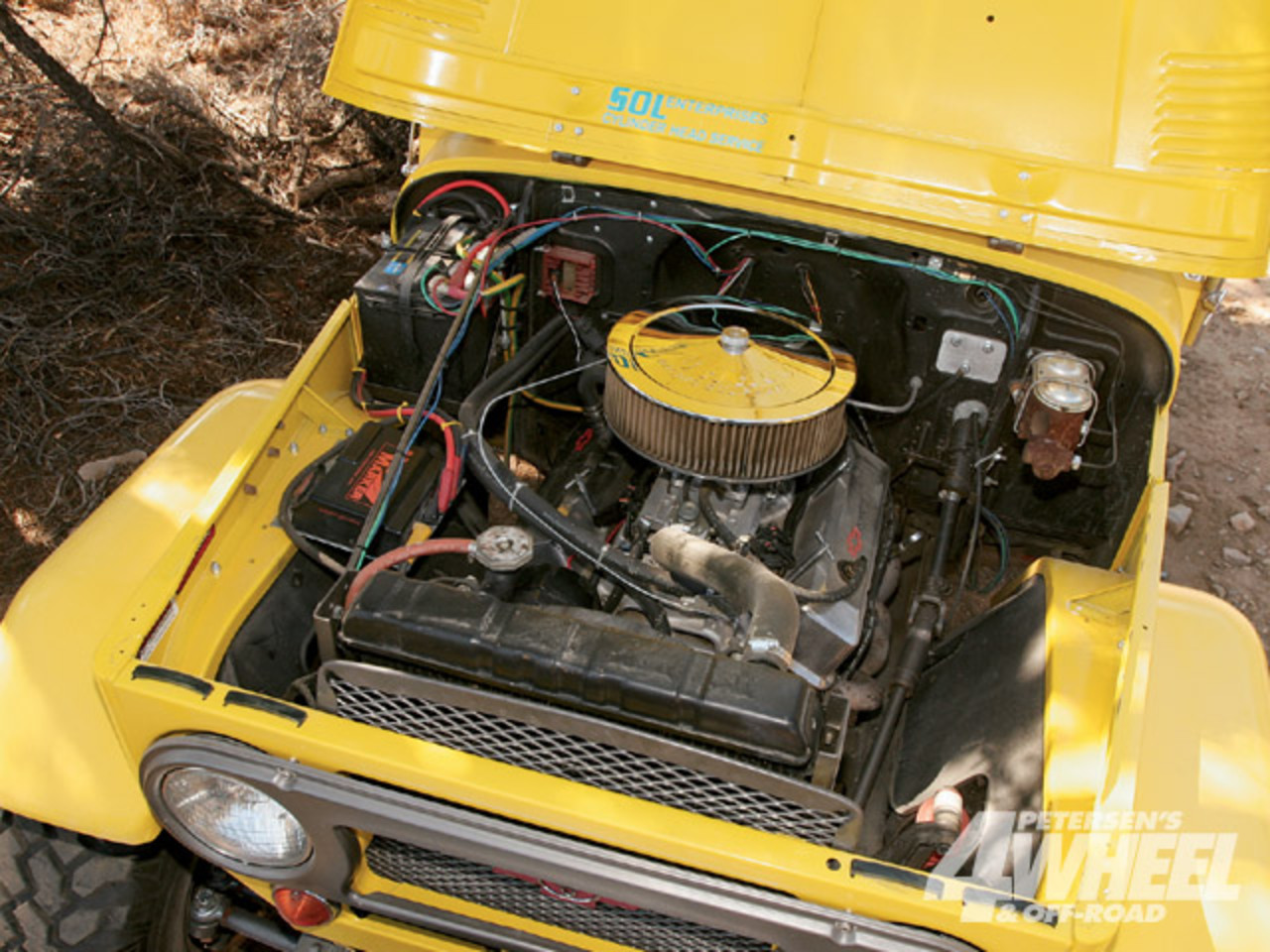 1964 Toyota Land Cruiser Fj40 Engine