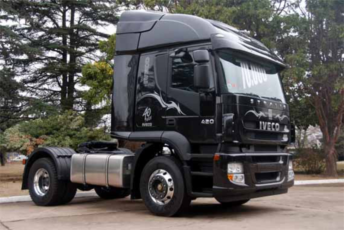 Iveco Stralis 420 HD - cars catalog, specs, features, photos, videos,
