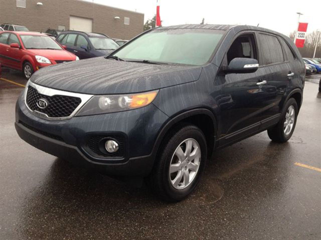 2011 Kia Sorento LX Dark Blue | DURHAM KIA | Wheels.