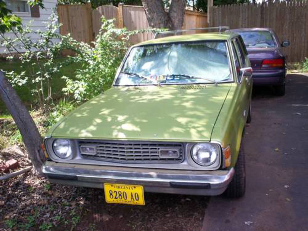 1975 DODGE COLT STATION WAGON 49 k ORIGINAL MILES NO DAMAGE IN & OUT