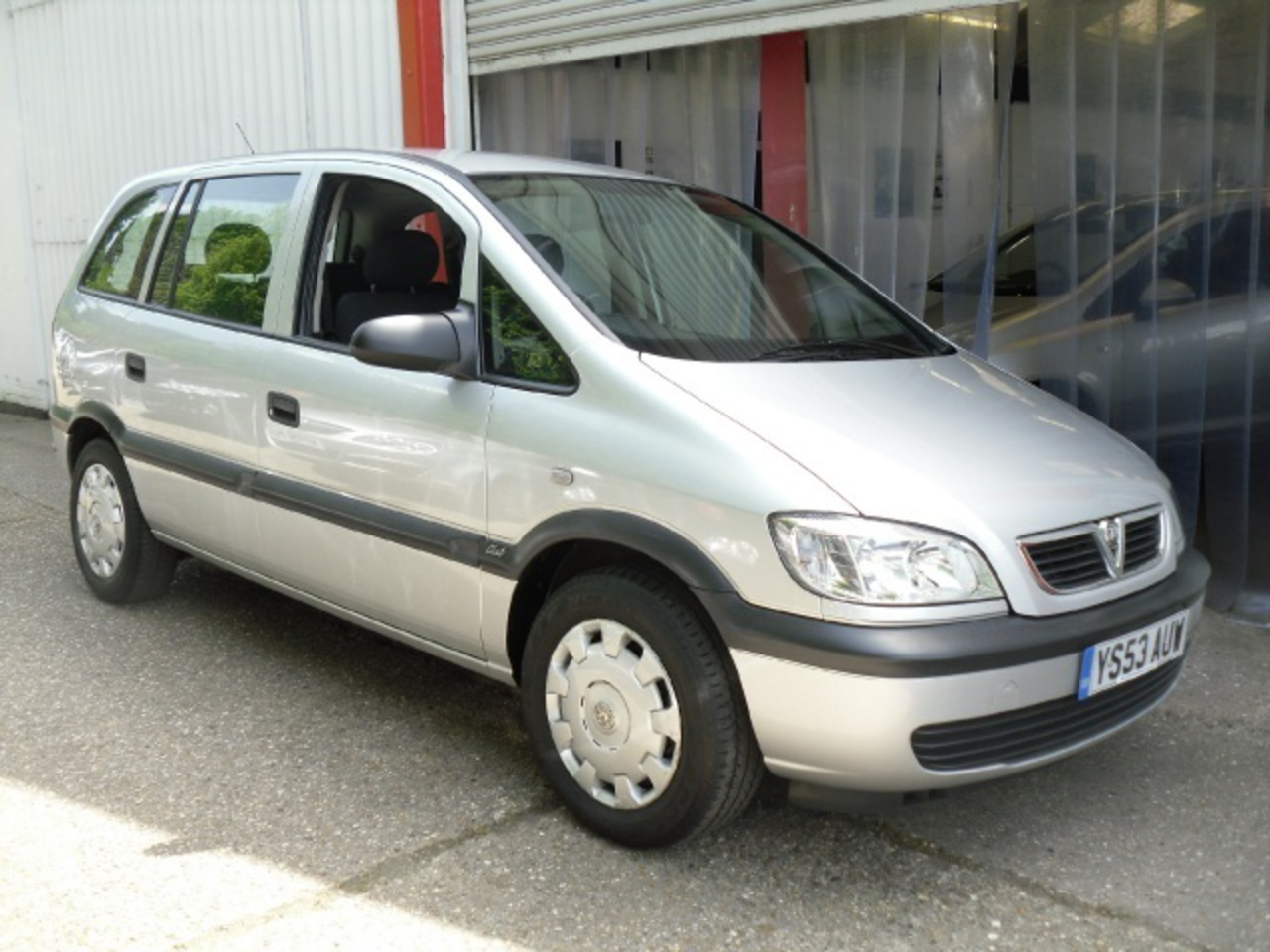 Vauxhall Zafira Club DTi. View Download Wallpaper. 640x480. Comments