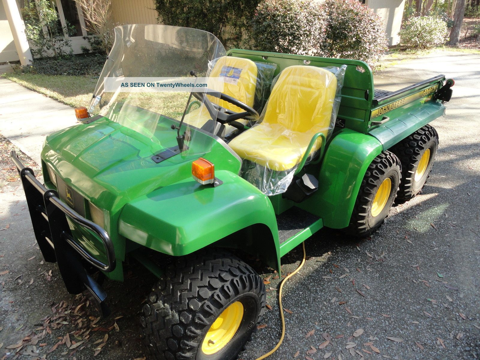 topworldauto photos of john deere gator 6x4 photo galleries. Black Bedroom Furniture Sets. Home Design Ideas