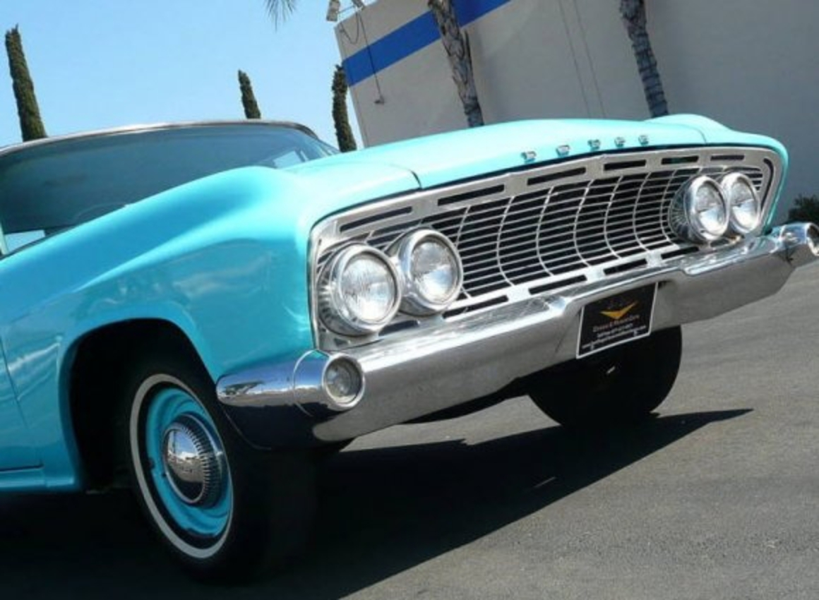 1961 Dodge Seneca 413 Max Wedge Sedan Front