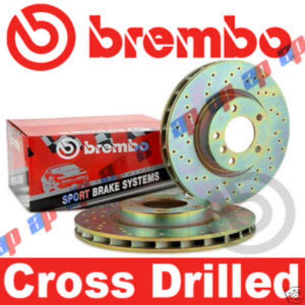 Brembo Drilled Discs BMW 525i E61 Touring. Enlarge