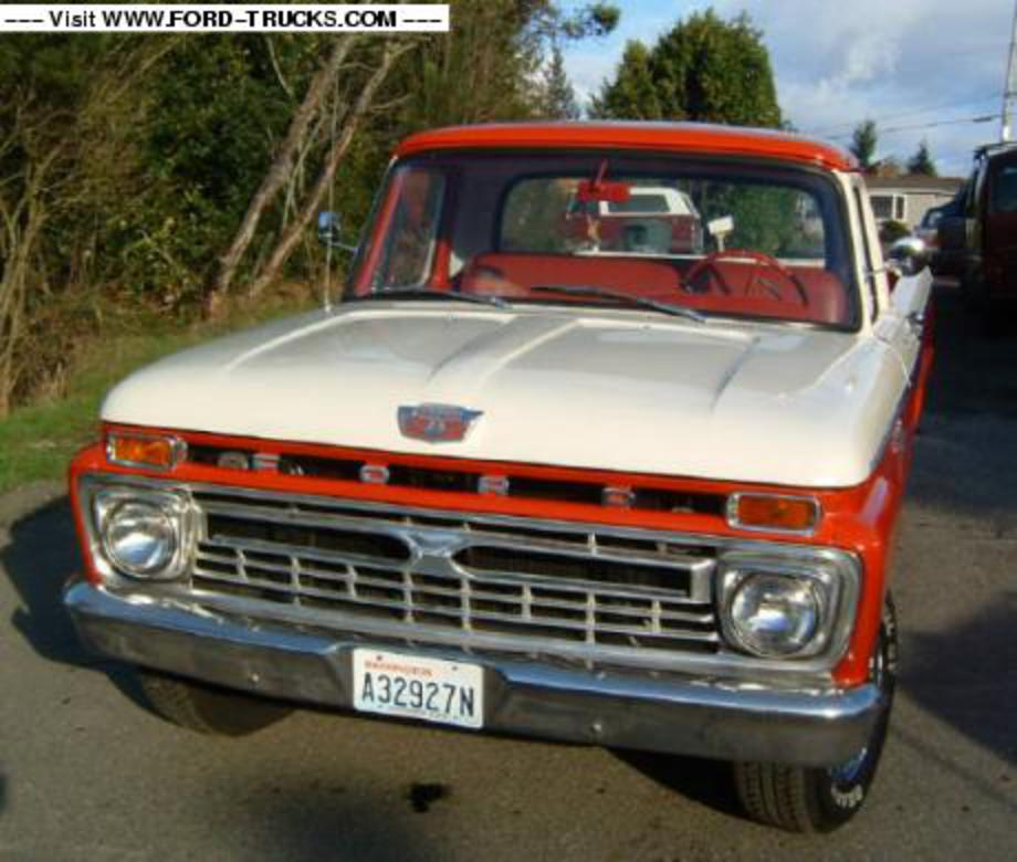 TopWorldAuto >> Photos Of Ford F-100 Long Bed