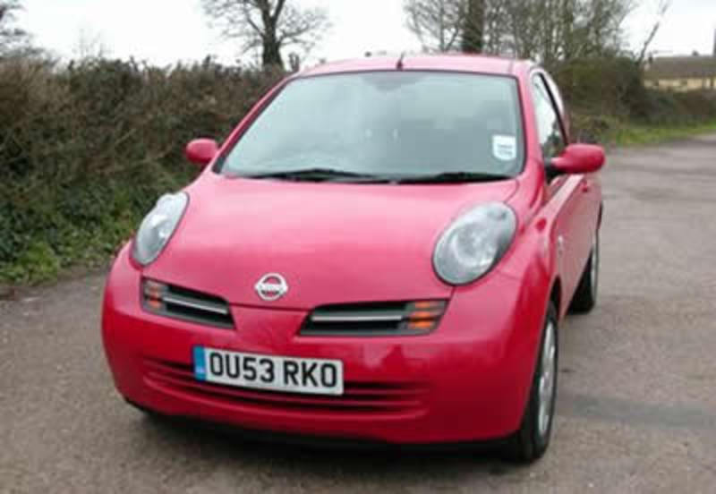 The new Nissan Micra was launched in the UK on the 15th January 2003 with