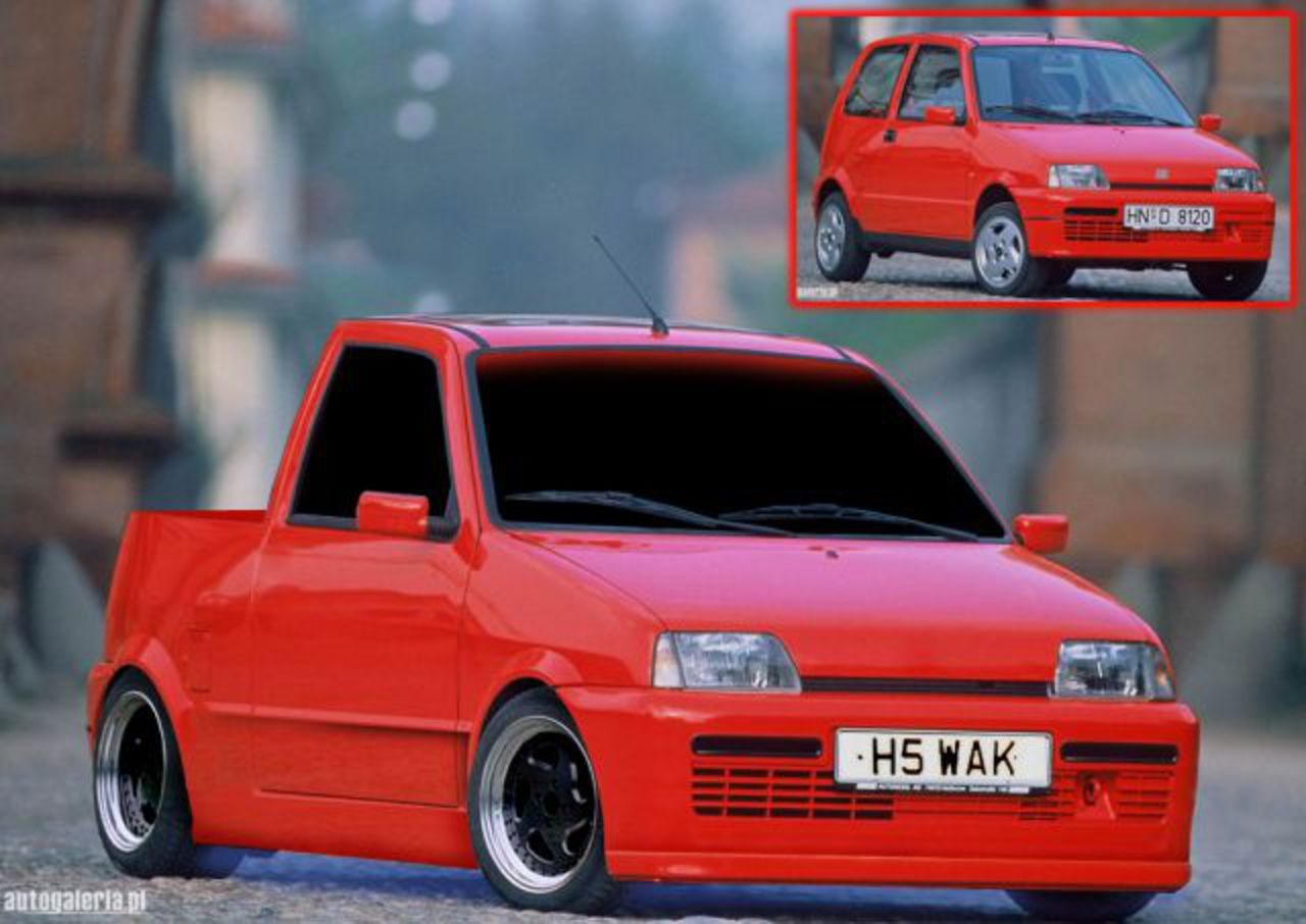 Fiat – Fiat Cinquecento Pick-up Fiat