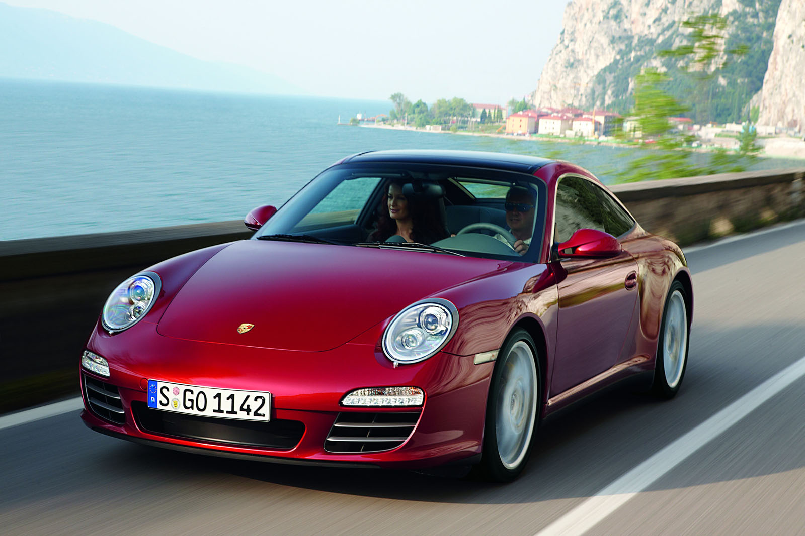Download This High Resolution Picture of the 2009 Porsche 911 Targa 4S
