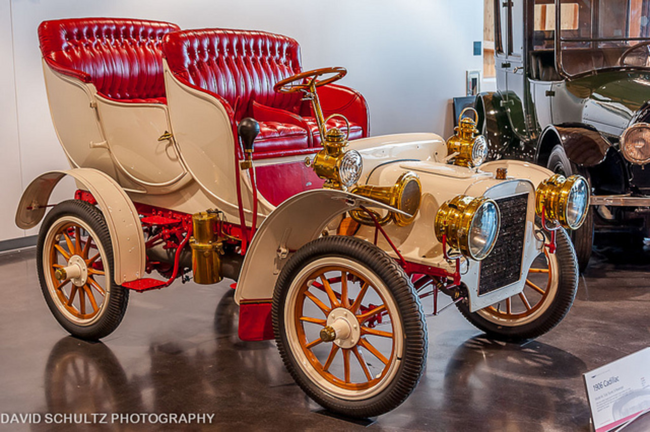 1906 Cadillac Model M Tulip Tourer. 1906 was Cadillac's biggest sales year