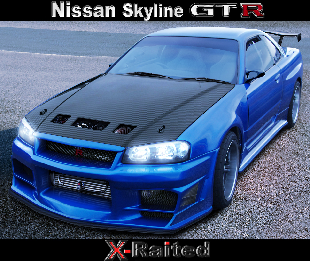 This is a Nissan Skyline GT-R top conditions.This is also a Japanese sports