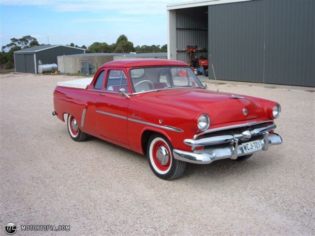 Topworldauto Photos Of Ford Mainline Photo Galleries 1956 Wiring Diagram A 1953 Ute The