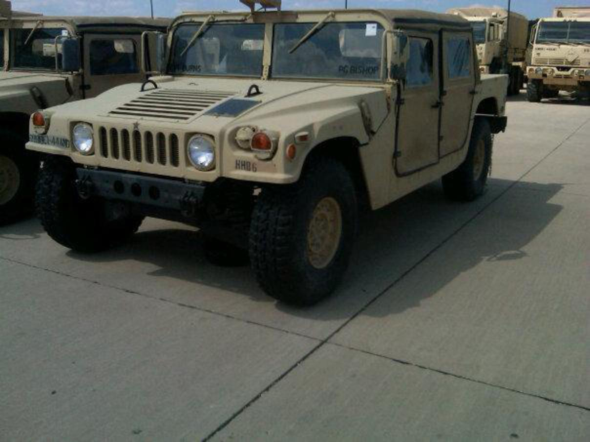 "1997 AM General HMMWV ""My work toy"" - Killeen, TX owned by ..."