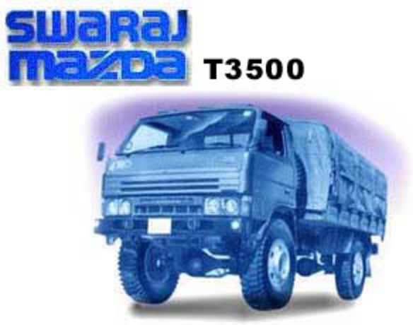 Swaraj Mazda T3500. Note:- Company has stopped manufacturing this model.