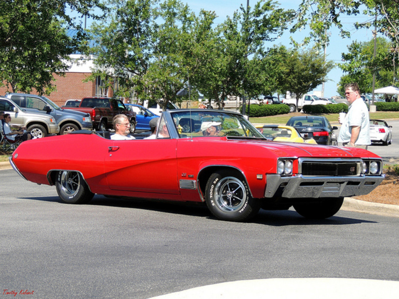Buick Skylark GS 400 Convertable. Seen at the June 16th 2012 Garner NC Grill